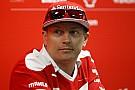 Formula 1 Raikkonen nominato Ambasciatore per lo Sport in Finlandia