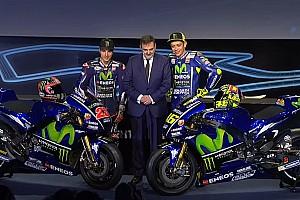 MotoGP Últimas notícias Com mais azul, Yamaha revela moto para temporada 2017
