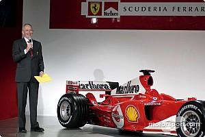 Rory Byrne Ferrari'de tam zamanlı olarak çalışmaya başladı