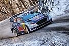 WRC Ошибка Невилля  вывела Ожье в лидеры Ралли Монте-Карло