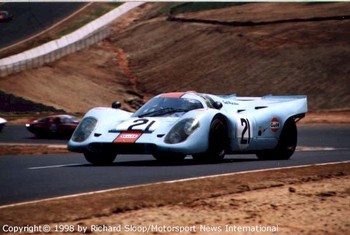 Porsche 917 @ Road Atlanta 1998