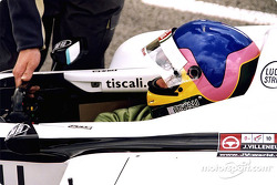Jacques Villeneuve in the pits