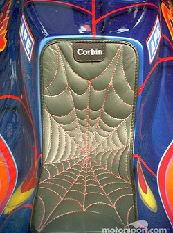 Spiderman's seat