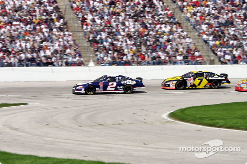 #2 Rusty Wallace & #7 Mike Wallace