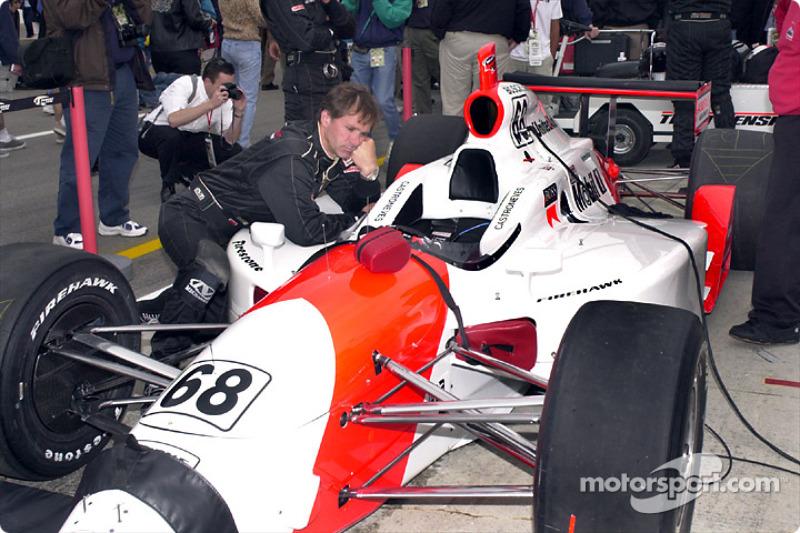 Team Penske before the race