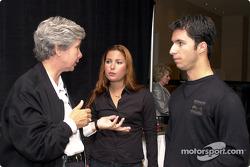 Kika Concheso and Bruno and Jana Junqueria