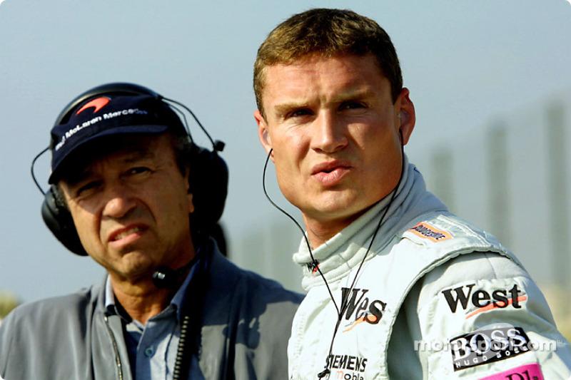 Joe Ramirez and David Coulthard
