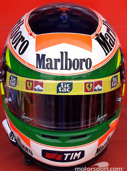 Rubens Barrichello helmet special Brazilian GP edition