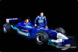 Rookie Kimi Raikkonen