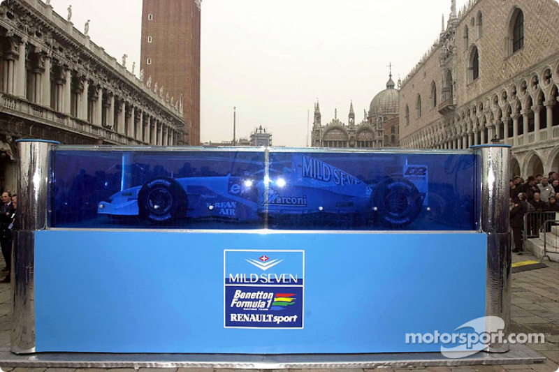 The new B201 presented in Venice