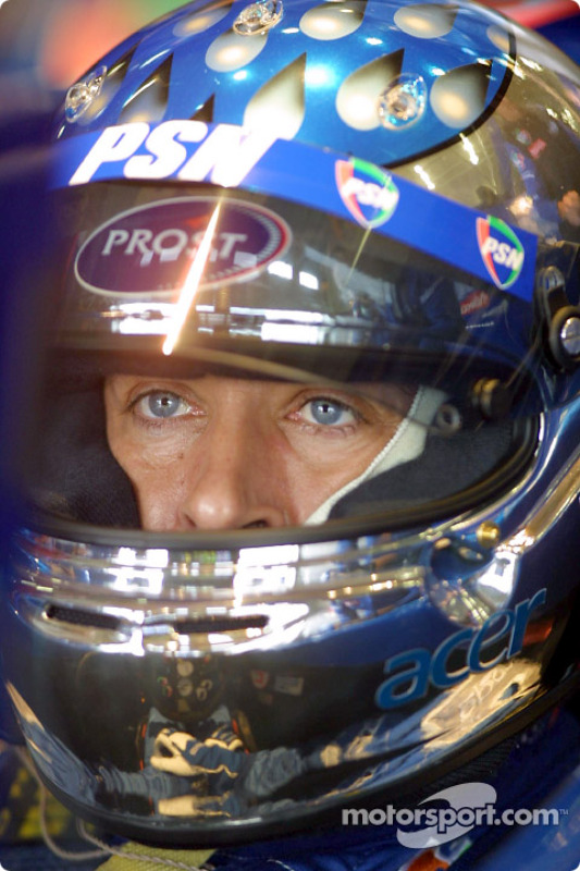 Jean Alesi: who'll get the helmet this time?