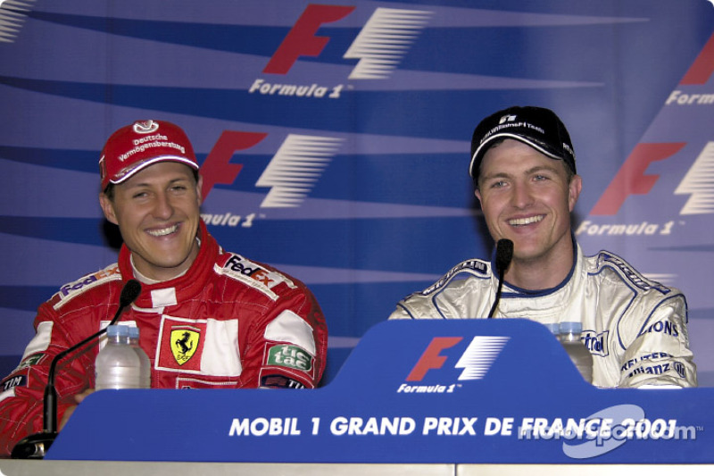 Press conference: Michael and Ralf Schumacher
