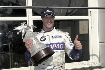 Ralf Schumacher and his trophy