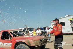 Race winner Scott Douglas