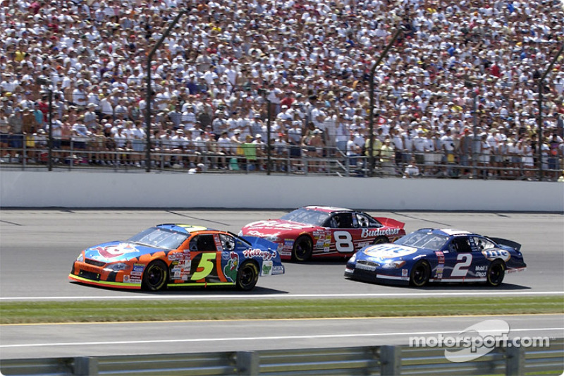 Terry Labonte, Rusty Wallace and Dale Earnhardt Jr.