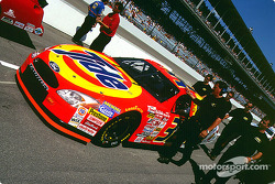 Getting ready for the race: Ricky Craven