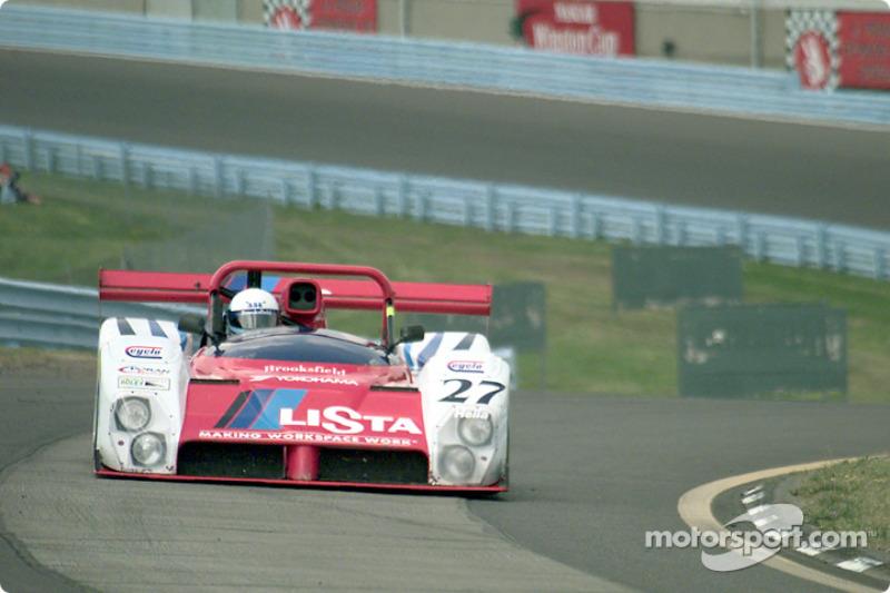 Mauro Baldi practicing hot laps