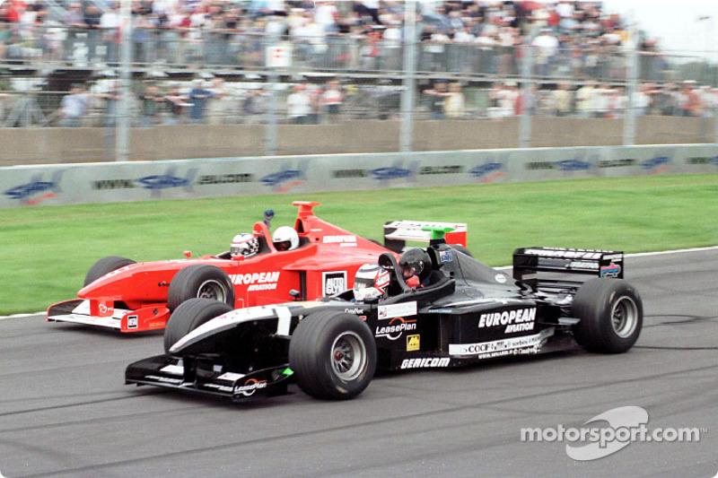 Nigel Mansell at full speed