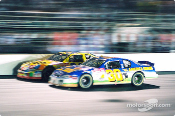 Jeff Green and Ken Schrader