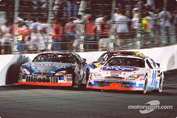 Mark Martin and Brett Bodine