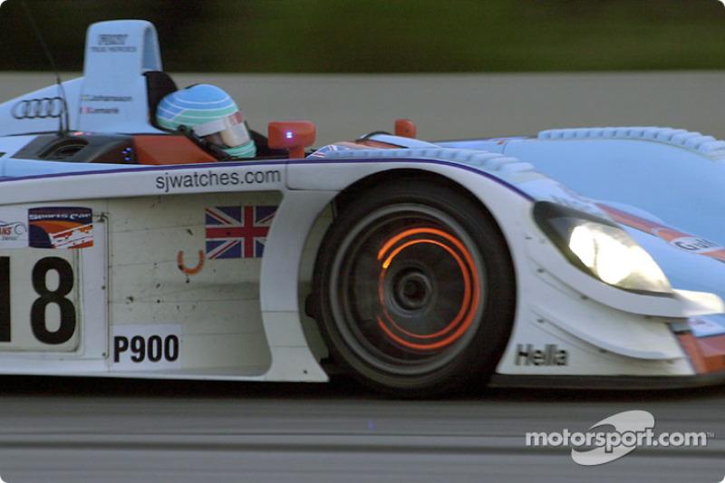 Patrick Lemarié in the Johansson Audi R8 #18