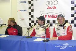Press conference: Bill Auberlen, Boris Said III and Hans Stuck