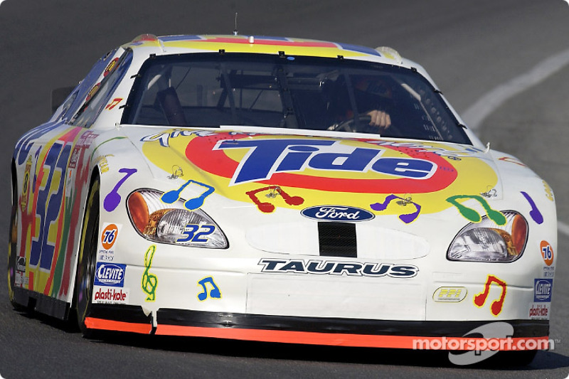 Ricky Craven in Tide Give Kids the World paint scheme