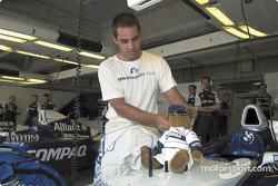 Juan Pablo Montoya and Juanito
