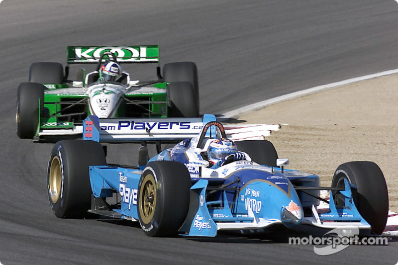 Alex Tagliani and Dario Franchitti