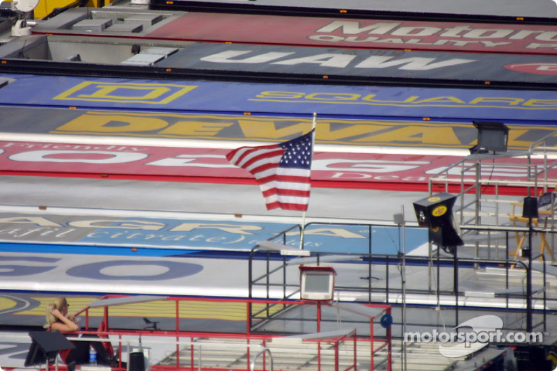 NASCAR Winston Cup Series team semis