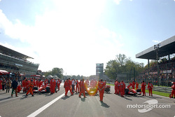 Ambiance at Monza