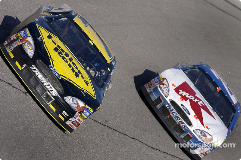 Kevin Lepage and Jimmy Spencer