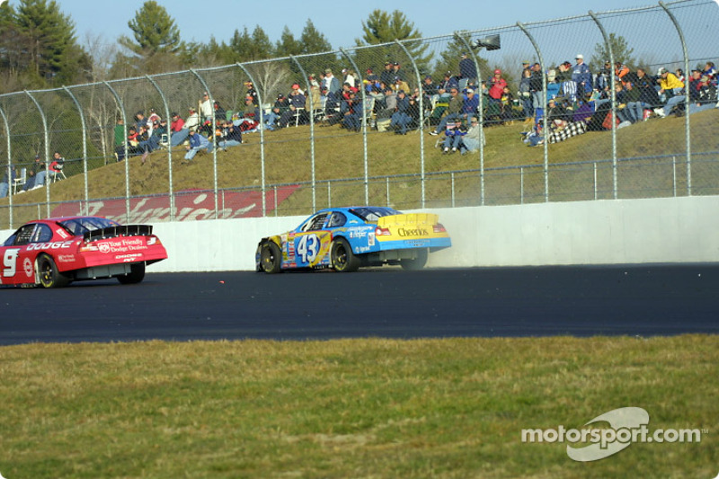 Bill Elliott and John Andretti
