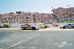 Accident: Michael Waltrip, Buckshot Jones and Ken Schrader