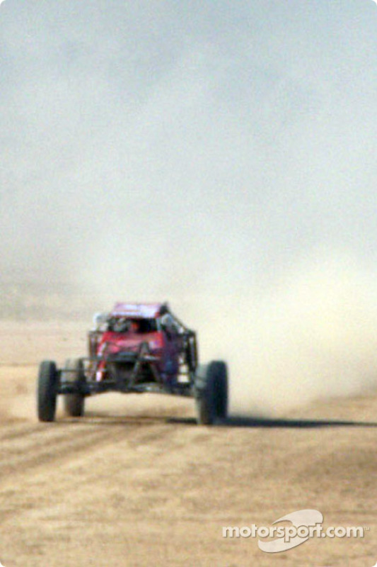 Buggy Car on course