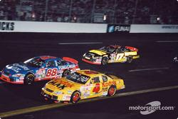 Bobby Hamilton, Dale Jarrett and Matt Kenseth