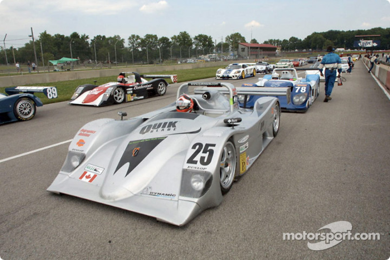 The Multimatic Motorsports entry sits on the grid