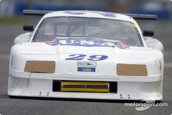 Sky Blue Racing's #29 Mustang was the fastest AGT car at Daytona on Saturday