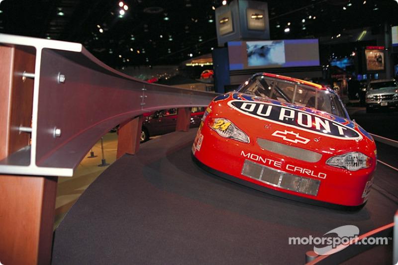 Jeff Gordon Team Monte Carlo NASCAR Winston Cup car