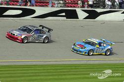 BMW M3 and Porsche GT3 R