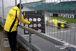 On pitwall