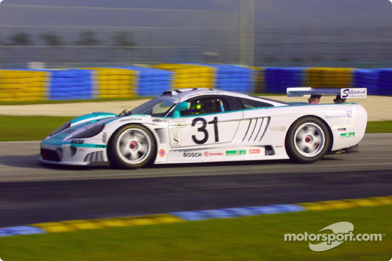 The #31 Konrad Motorsports Saleen S7R was quickest in the GTS class during Thursday's practice sessions