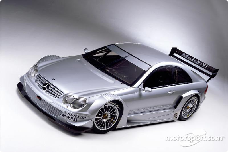 The new AMG Mercedes-Benz CLK-DTM 2002