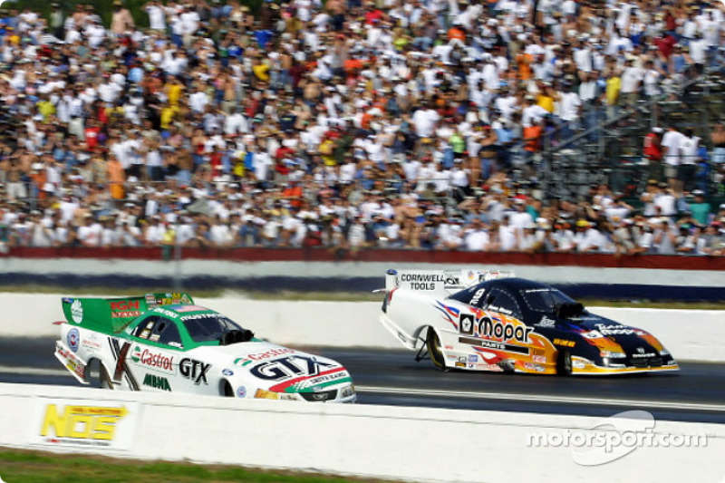John Force and Dean Skuza