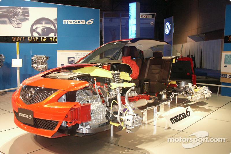 Mazda cutaway
