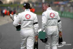 A good day for Yvan Muller and James Thompson