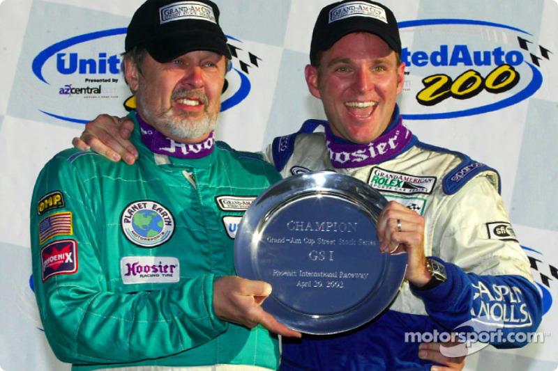 Overall winners Shane Lewis and Joe Nonnamaker
