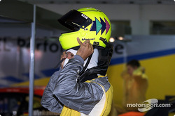Manuel Reuter and the HANS device
