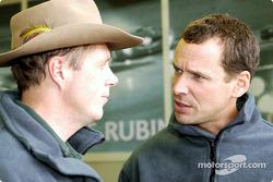 Eric Van De Poele and Butch Leitzinger