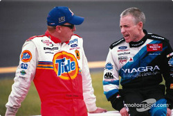 Ricky Craven and Mark Martin